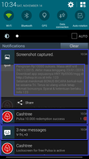 Cara Mendapatkan Pulsa Gratis Di Android Dari Cash Tree